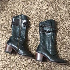 """Freebird Black """"Caden"""" Heeled Boots"""